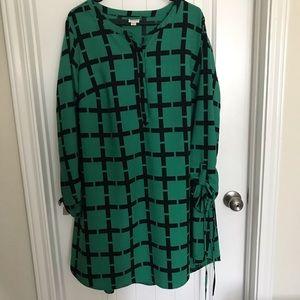 Long sleeve dress size XXL